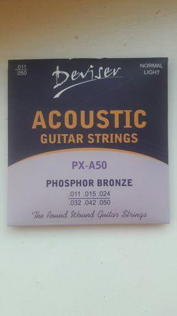 deviser Px-A50 струни для акустичної гітари розпродаж
