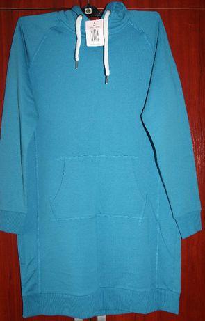 Sukienka dresowa zielona NOWA Rozm. 42, 44