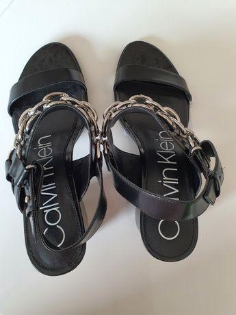 Nowe buty Calvin Klein, skóra naturalna