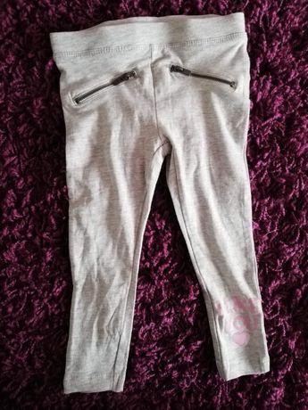 Jegginsy dziewczęce spodnie 86/92 * 1-2 lata
