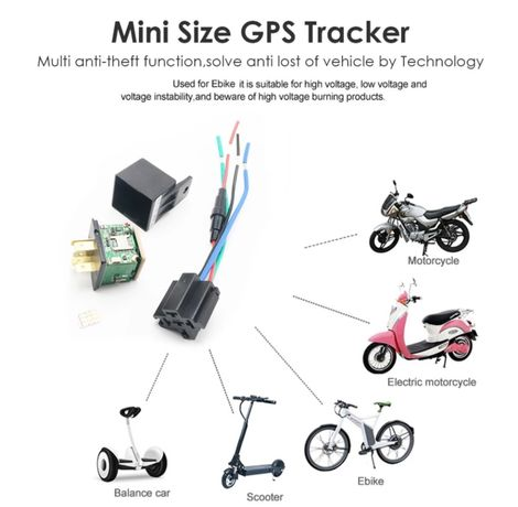 Gps tracker localizador rele Oferta cartao SIM a funcionar