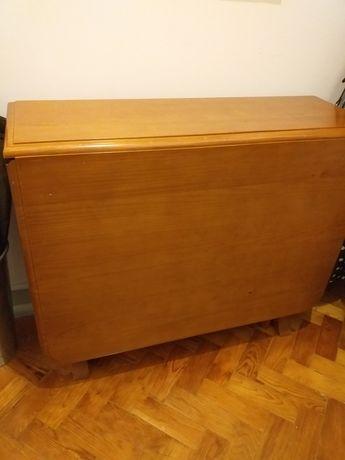 Mesa em pinho , tipo mesa holandesa