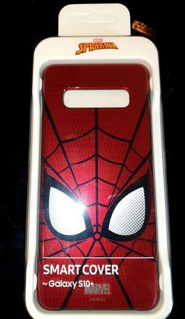 Etui obudowa smart cover Samsung Galaxy S10+ s10 plus spiderman