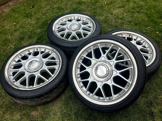 """Felgi BBS RS2 702 17"""" 5x112 et35 8j Audi VW Skoda z oponami"""