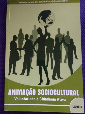 Livro Animação Sociocultural Voluntariado e Cidadania Ativa