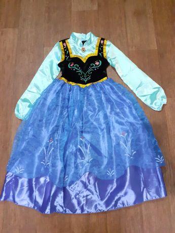 Платье ,Принцесса Анна, мф Холодное сердце, 7-8 лет,Дисней