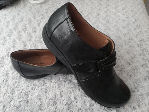 Wyjątkowo wygodne skórzane buty na rzepy