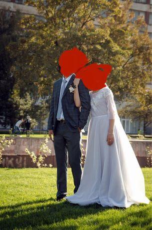 Нежное свадебное платье rara avis