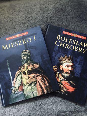 Książki włascy Polski - mieszko, bolesław chrobry