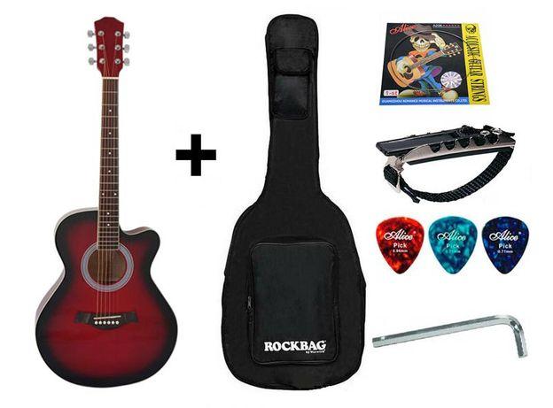 Гитара акустическая IRIN (полный комплект гитариста). СКИДКА -5%