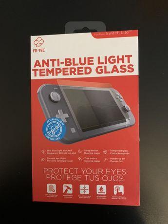 Vidro Anti Luz Azul para Switch Lite