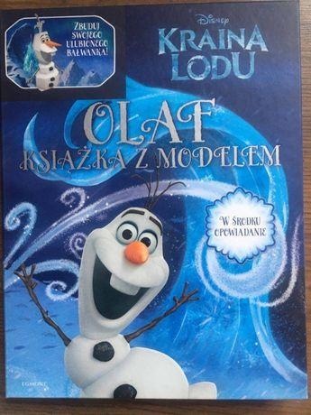 "Kraina Lodu ""Olaf książka z modelem"""