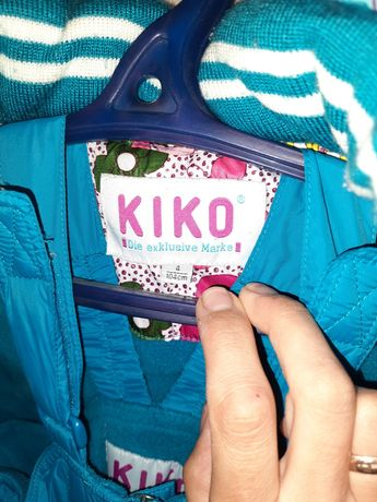 Зимовий комбинезон для дівчинки Kiko  104р.