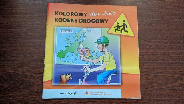 Książka 'Kolorowy kodeks drogowy dla dzieci''