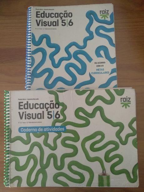 Livros Educação Visual 6ºano – Educação Visual 5/6