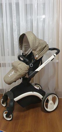 Коляска універсальна Babysing 2в1 W-GO - Khaki white