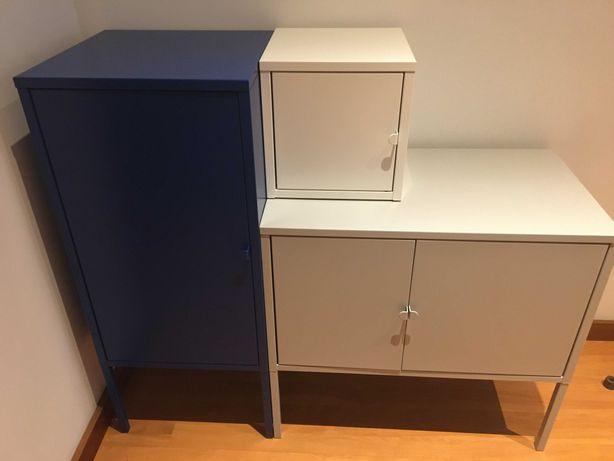 Armários metálicos IKEA LIXHULT