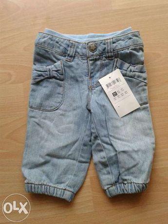 Nowe spodenki jeansy