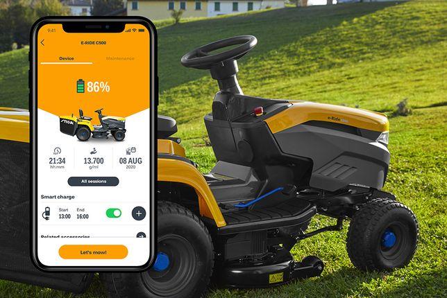 Akumulatorowy traktor ogrodowy Stiga EXPERIENCE e-Ride C500 48V 40Ah
