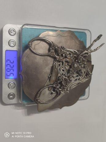 Sprzedam złom srebra próby 800 waga 226,5 g