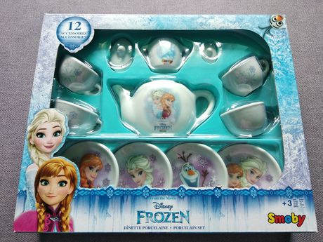 Nowa zastawa z porcelany Frozen - na prezent - serwis do kawy ze Smyka