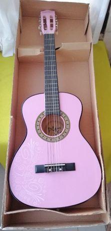 Viola / Guitarra Clássica de Madeira Rosa com 6 cordas Altura 86 cms