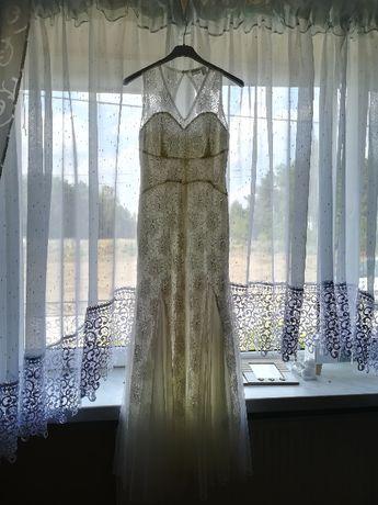 koronkowa sukienka na poprawiny