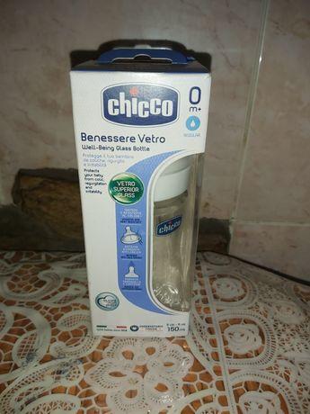 Бутылочка для кормления антиколиковая chicco оригинал