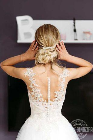 Suknia ślubna , r 34-36
