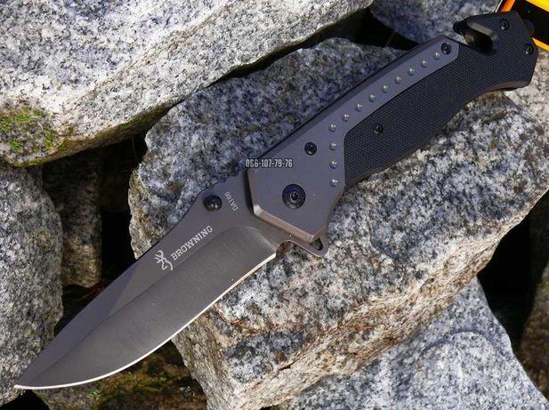 Browning DA66 нож раскладной складной охотничий Браунинг со стропорез