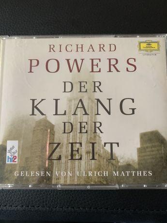 """Richard Powers """" Der klang der zeit"""" 6 CD po niemiecku"""