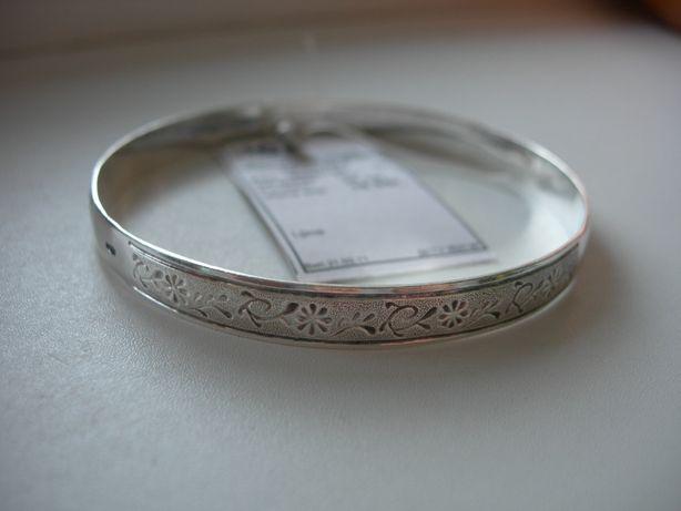 Браслет, серебро 925, КЮЗ, 18 гр, новый