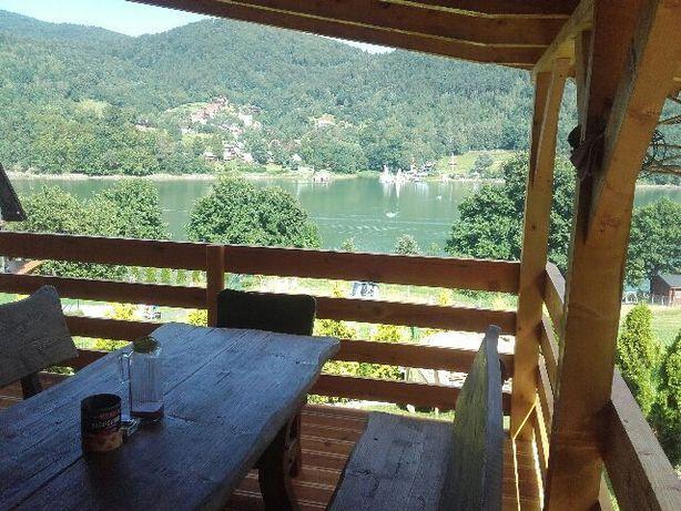 Domek w górach całoroczny, ferie 8-os Tresna Jezioro Żywieckie
