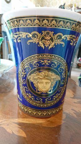 Ваза Versace Medusa Blue