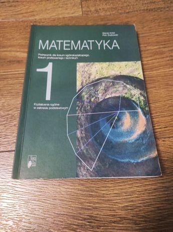 Matematyka klasa 1 – podręcznik - M. Antek, P. Grabowski
