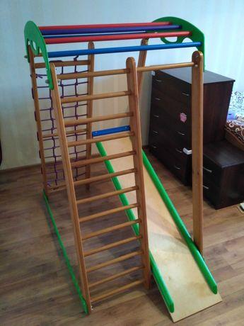 Дитячий спортивний комплекс-куточок для дому та квартири (Kidsport)