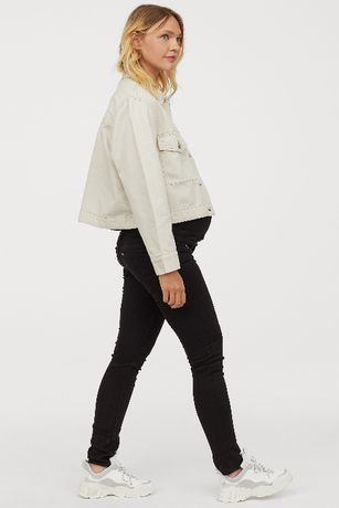 Spodnie dla ciężarnej z wysokim stanem H&M