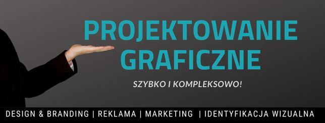 Projekty graficzne / Grafik / Logo/ Wizytówki / ZDALNIE / Tanio