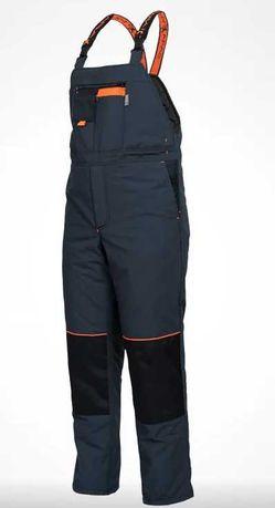 NOWE Spodnie Robocze Zimowe - Ocieplane - SARA - POSEJDON Winter - XL