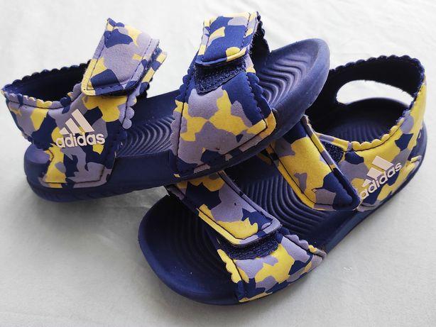 Sandały rzepy Adidas moro piankowe basen wodę 25