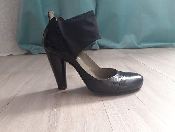 Buty włoskie skórzane