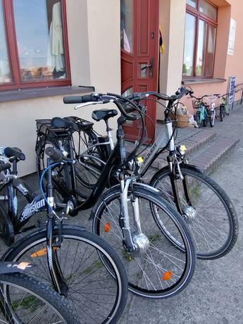Kosiarki i rowery
