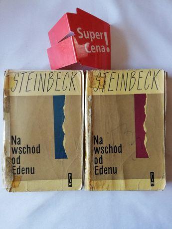 "książka ""na wschód od Edenu"" 2 tomy John Steinbeck"