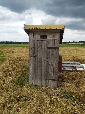 Wychodek WC na budowę