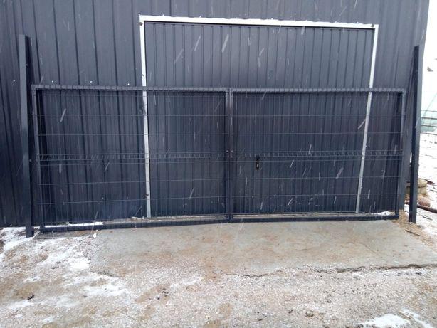 Brama Panelowa 4mx1.53 m