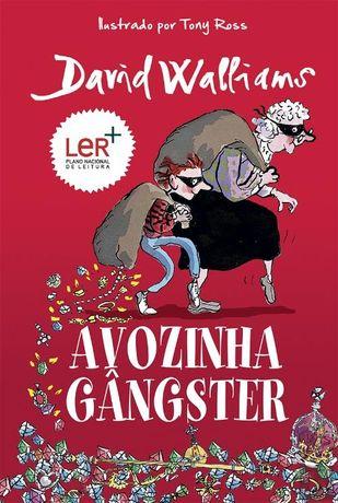 """Livro """"Avozinha Gangster"""" de David Walliams"""
