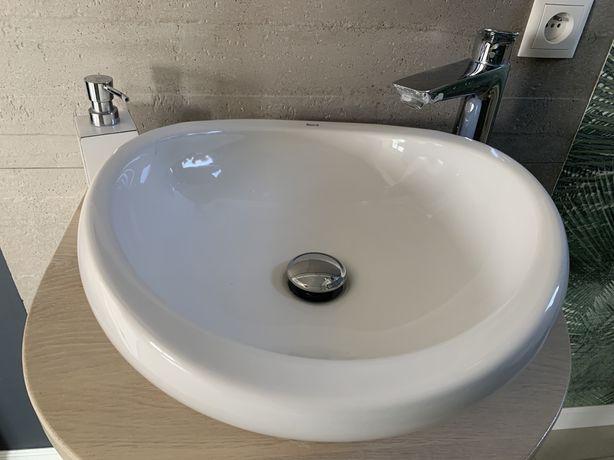 Umywalka stawiana nablatowa 42x44cm