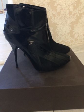 Alexander Mcqueen оригинал бренд 37 Макквин ботинки Kors Gucci Dior