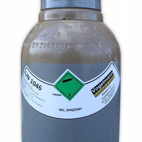 Butla z gazem Hel 8l 150bar MIG spawanie