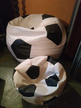 Pufa piłka + podnóżek